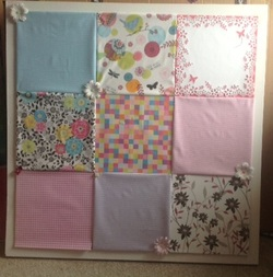 How to make your own beautiful pin board!